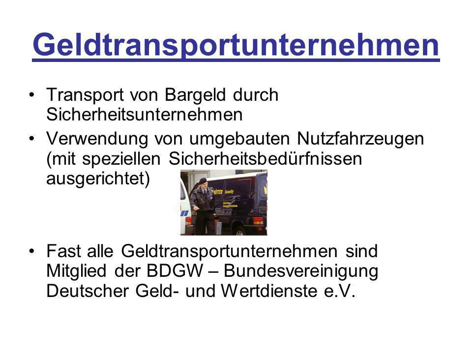 Geldtransportunternehmen