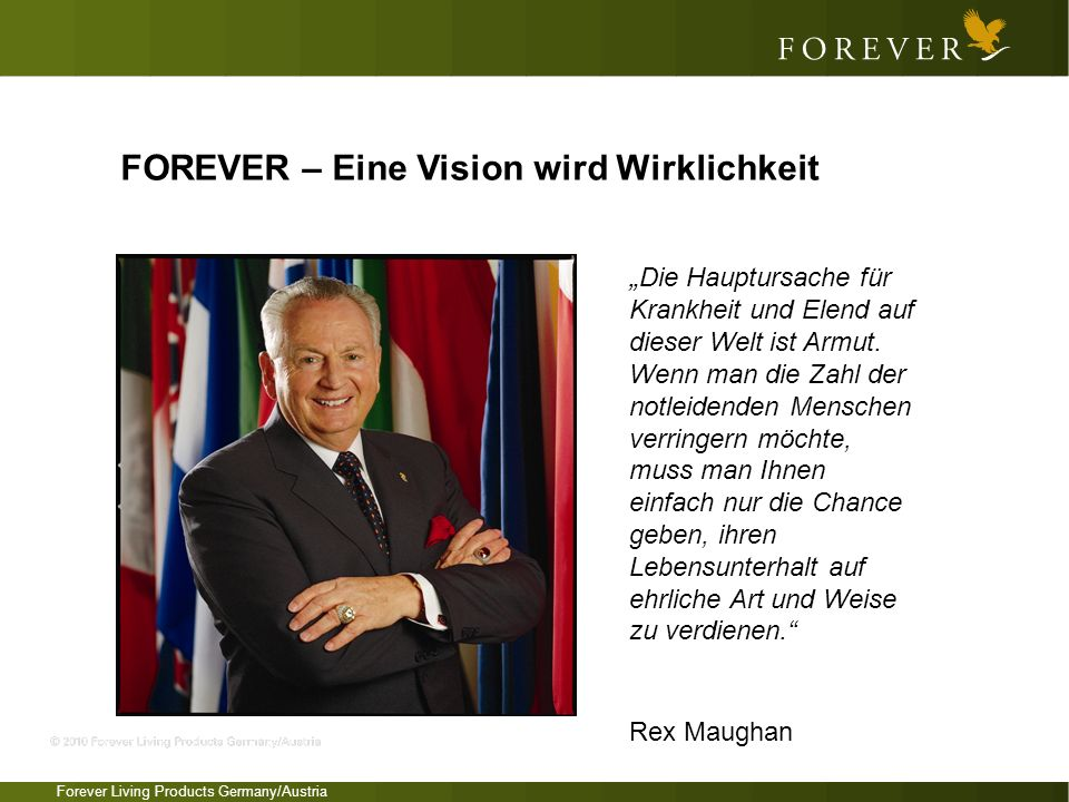 FOREVER – Eine Vision wird Wirklichkeit