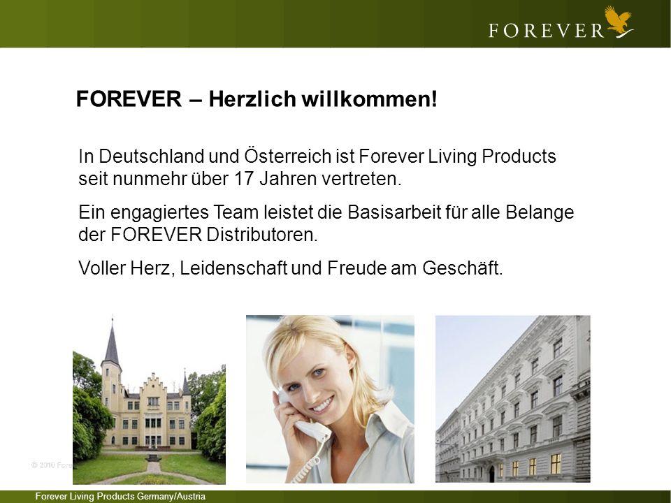 FOREVER – Herzlich willkommen!