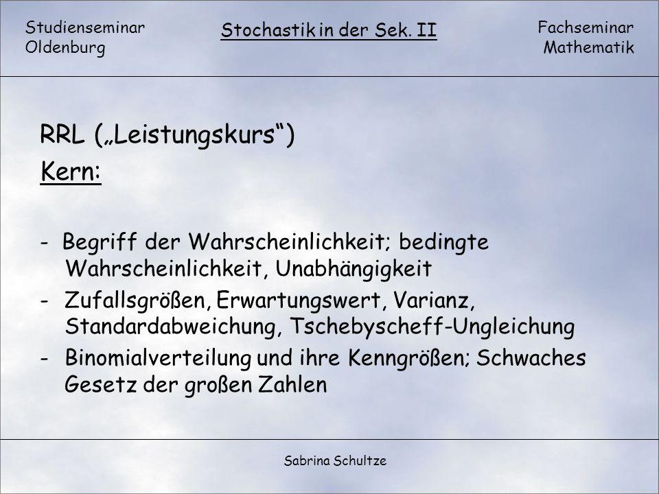 """RRL (""""Leistungskurs ) Kern:"""