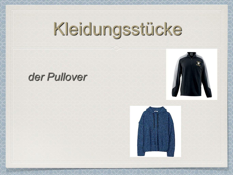 Kleidungsstücke der Pullover