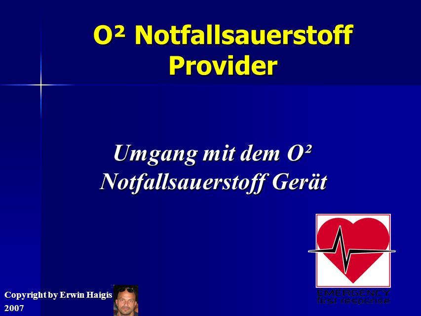 O² Notfallsauerstoff Provider