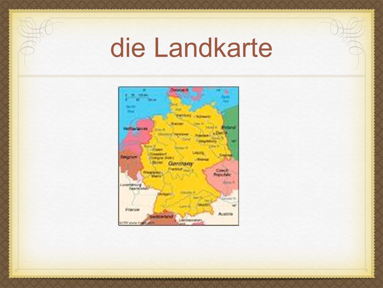 die Landkarte