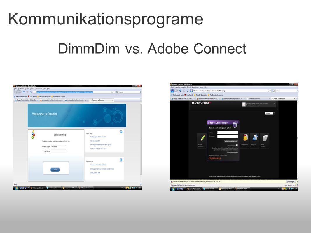Kommunikationsprograme