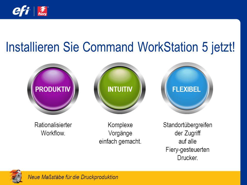 Installieren Sie Command WorkStation 5 jetzt!