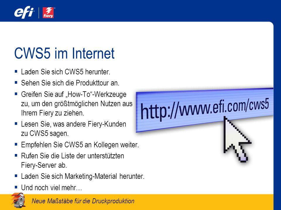 CWS5 im Internet Laden Sie sich CWS5 herunter.