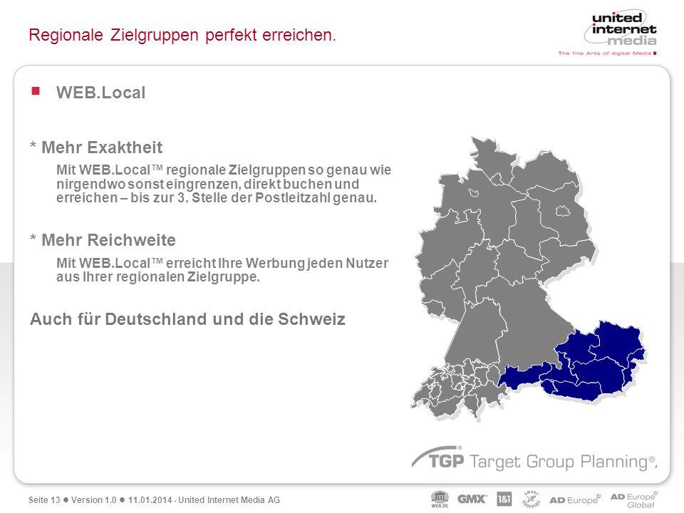 Regionale Zielgruppen perfekt erreichen.