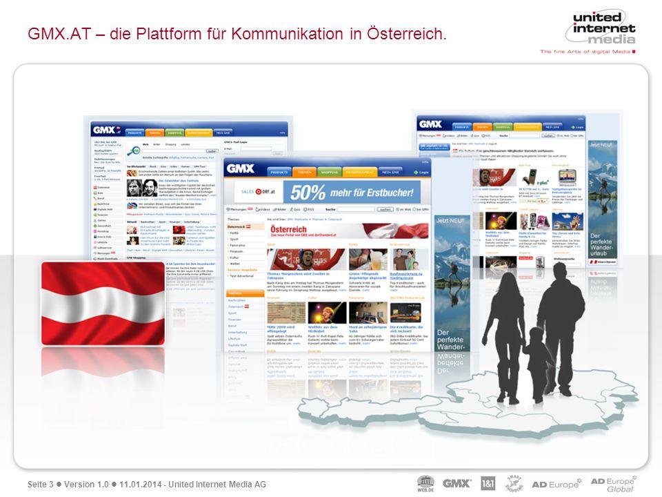 GMX.AT – die Plattform für Kommunikation in Österreich.