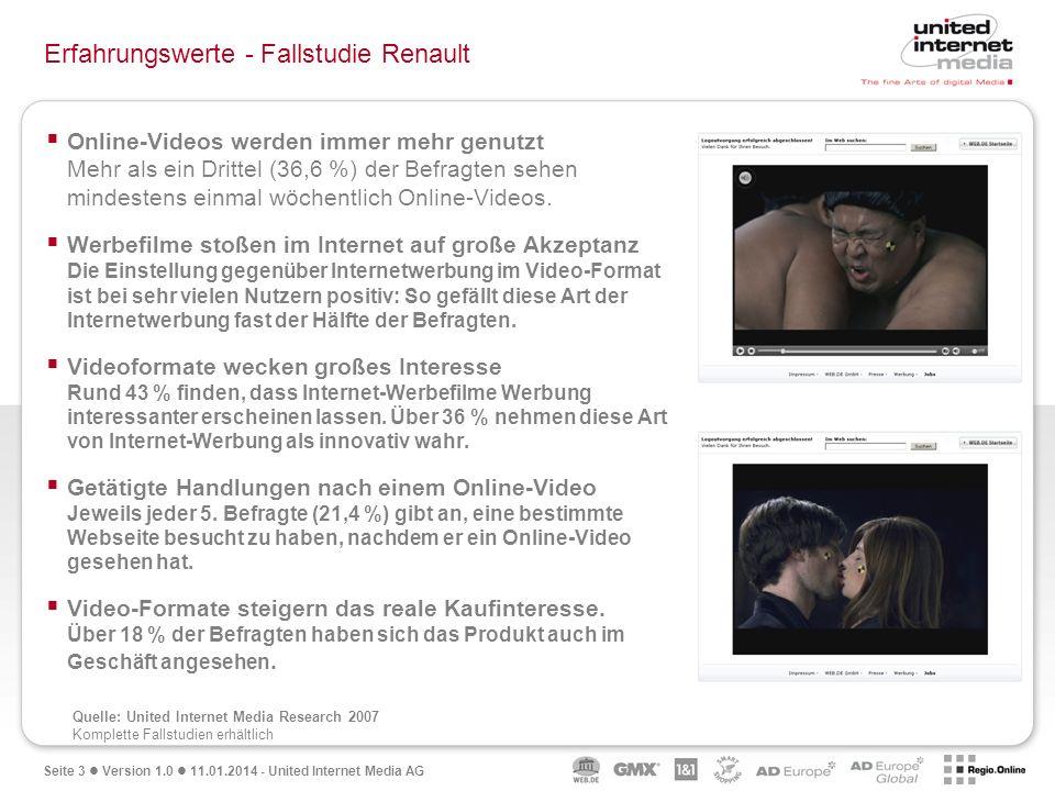 Erfahrungswerte - Fallstudie Renault