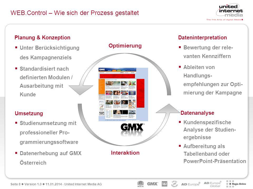 WEB.Control – Wie sich der Prozess gestaltet