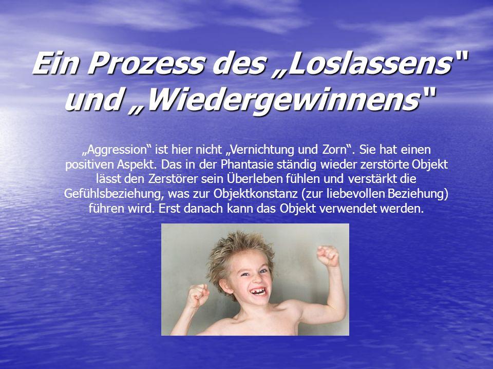 """Ein Prozess des """"Loslassens und """"Wiedergewinnens"""