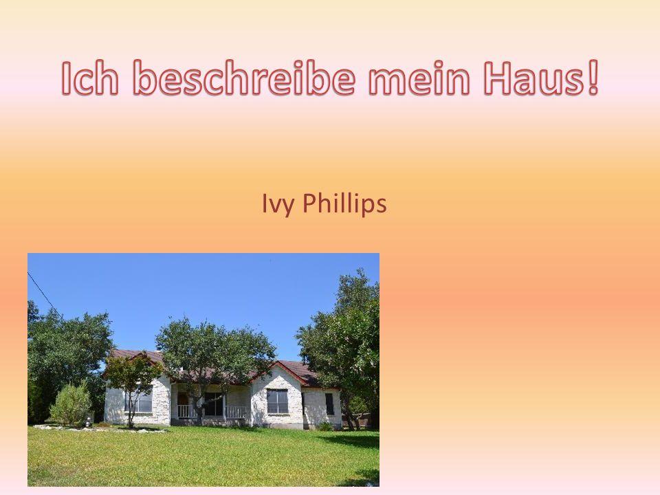 Ich beschreibe mein Haus!