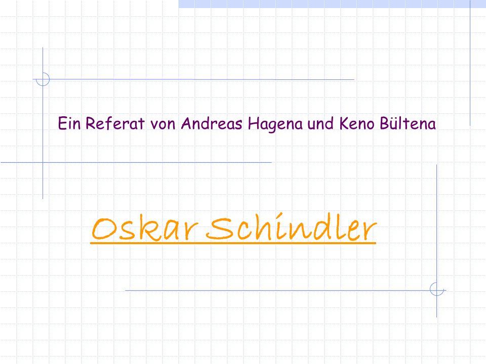 Ein Referat von Andreas Hagena und Keno Bültena
