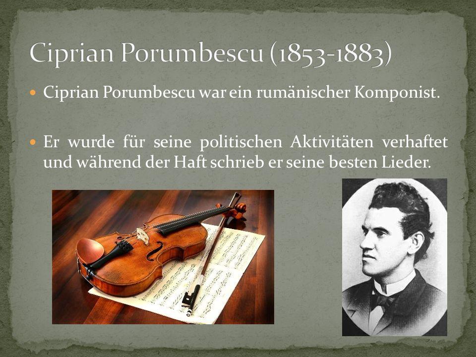 Ciprian Porumbescu (1853-1883)