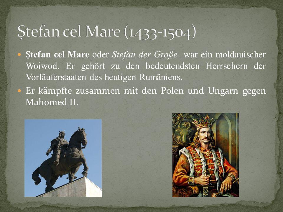 Ştefan cel Mare (1433-1504)