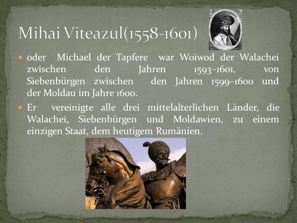 Mihai Viteazul(1558-1601)