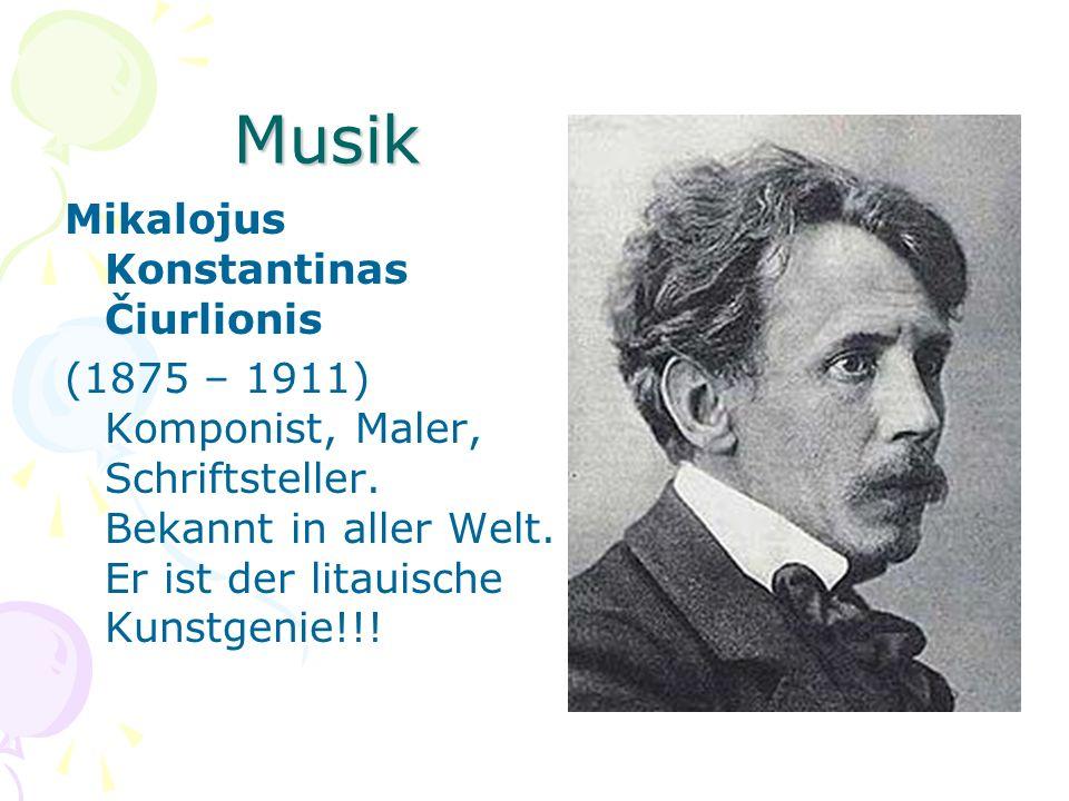Musik Mikalojus Konstantinas Čiurlionis
