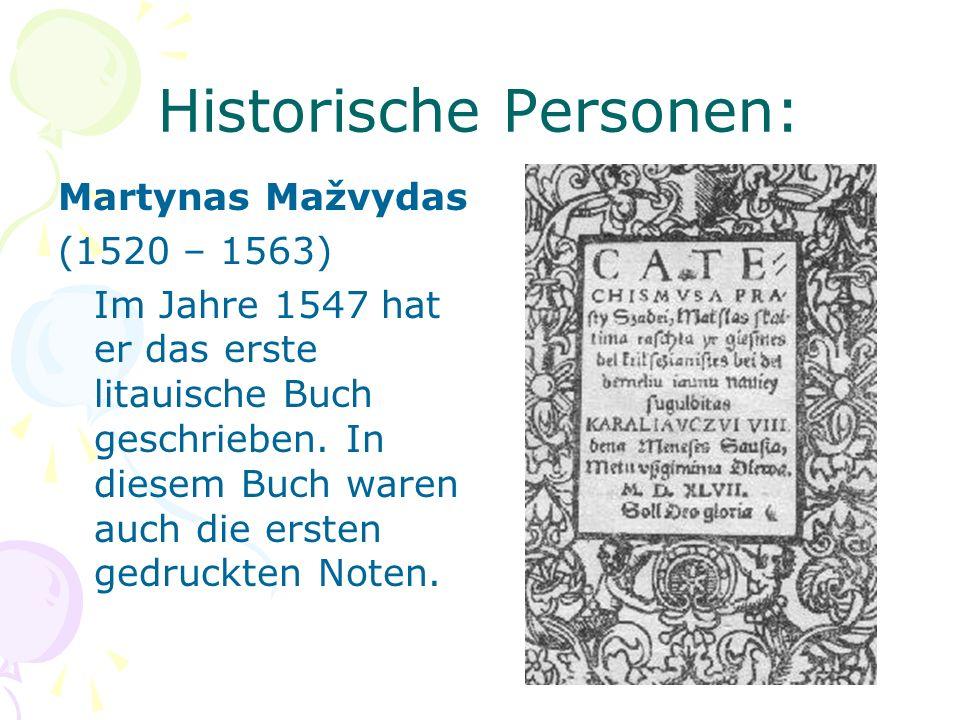 Historische Personen: