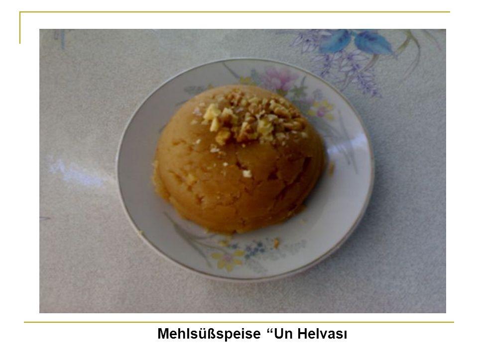 Mehlsüßspeise Un Helvası