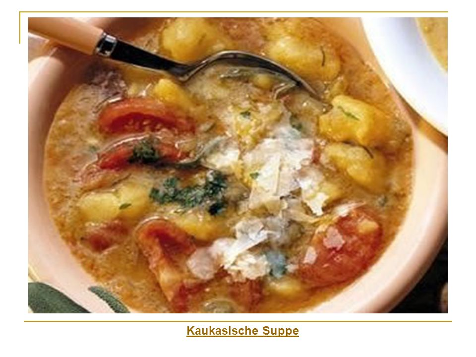 Kaukasische Suppe