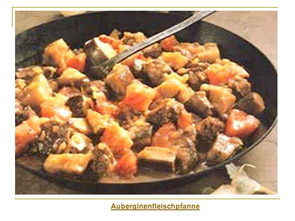Auberginenfleischpfanne