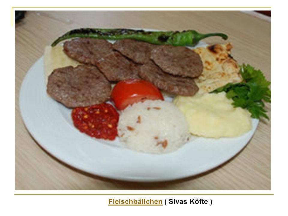 Fleischbällchen ( Sivas Köfte )