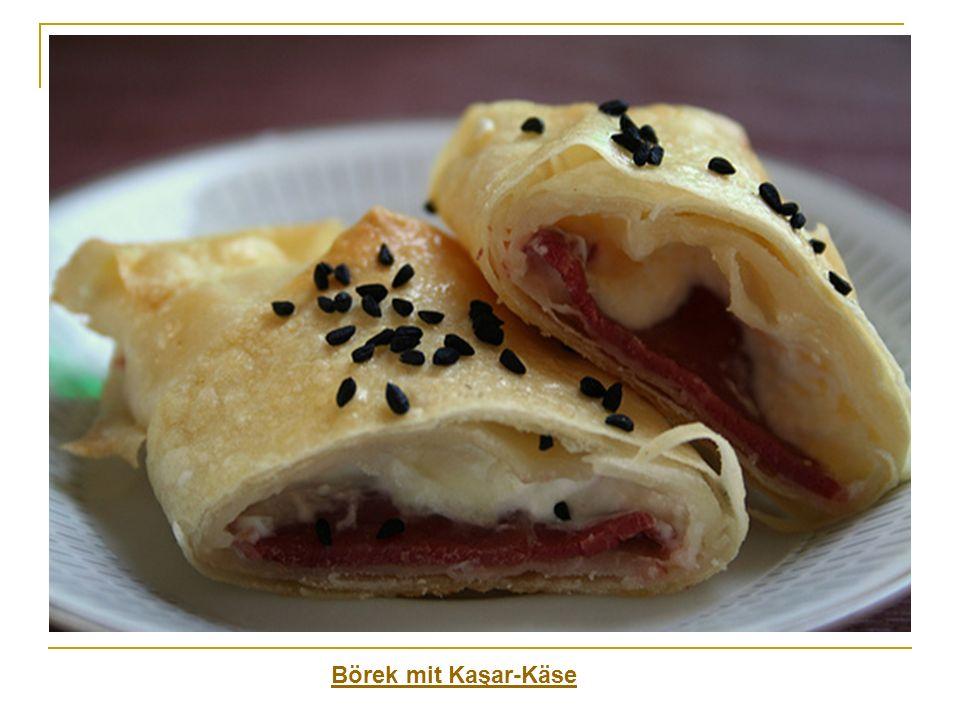Börek mit Kaşar-Käse