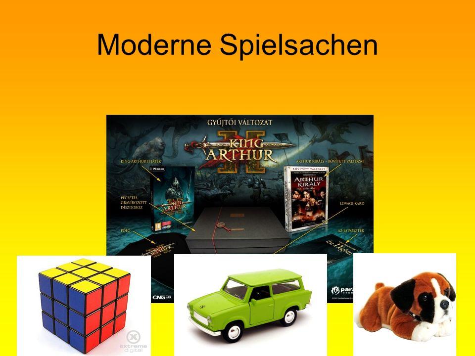 Moderne Spielsachen
