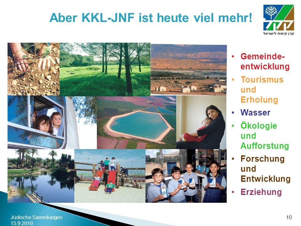 Aber KKL-JNF ist heute viel mehr!