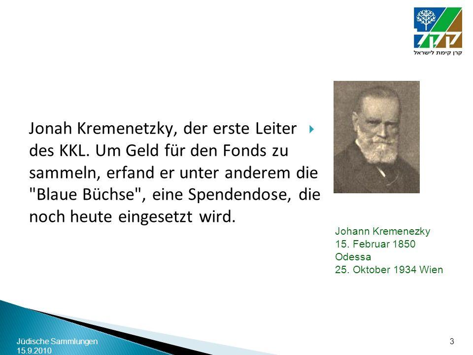 Johann Kremenezky 15. Februar 1850 Odessa 25. Oktober 1934 Wien