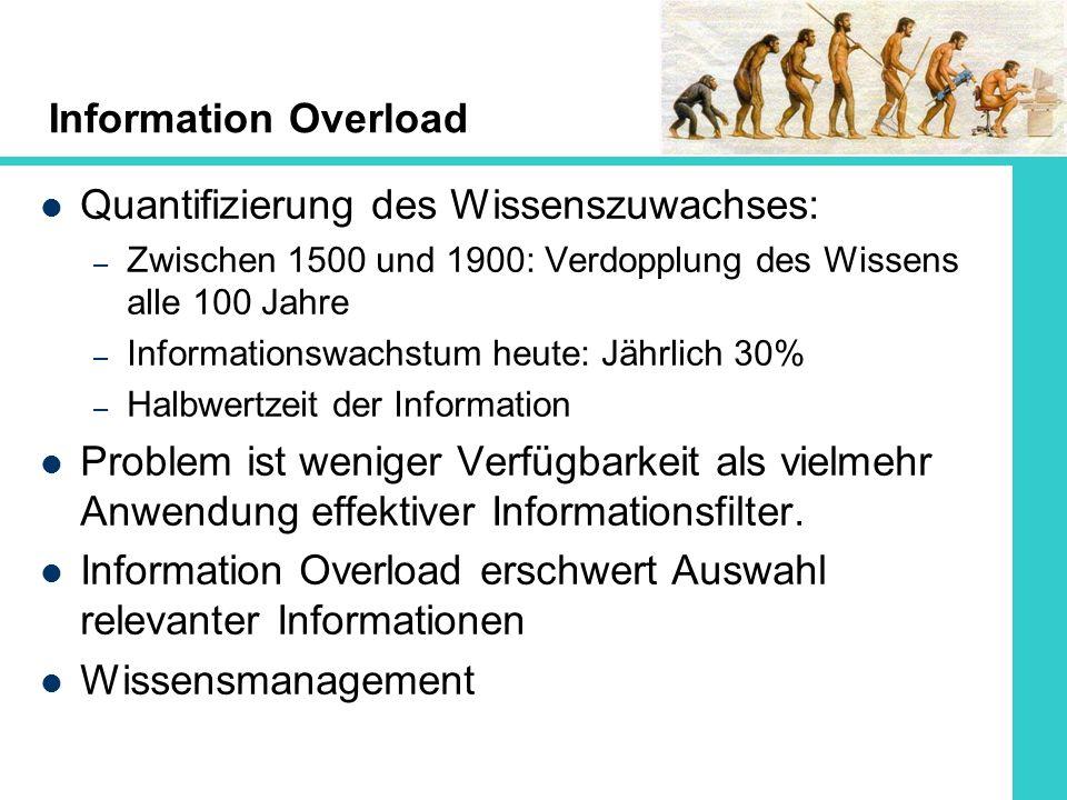 Quantifizierung des Wissenszuwachses: