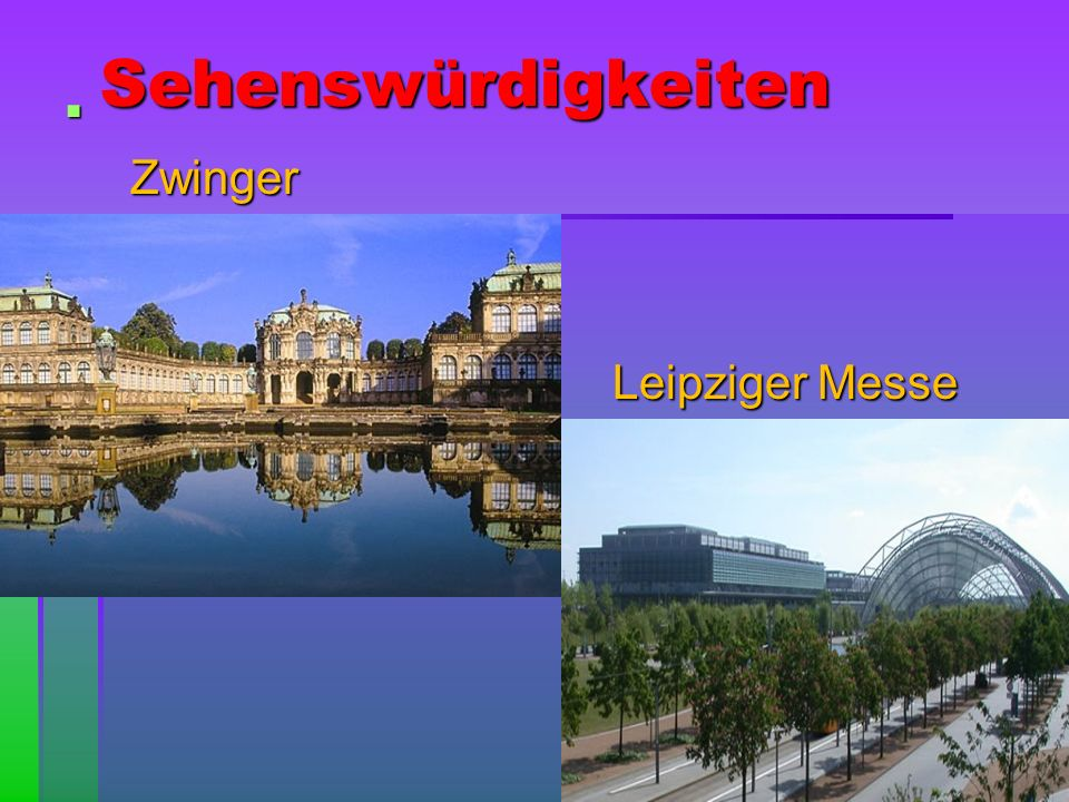 Sehenswürdigkeiten Zwinger Leipziger Messe