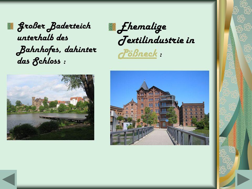 Ehemalige Textilindustrie in Pößneck :