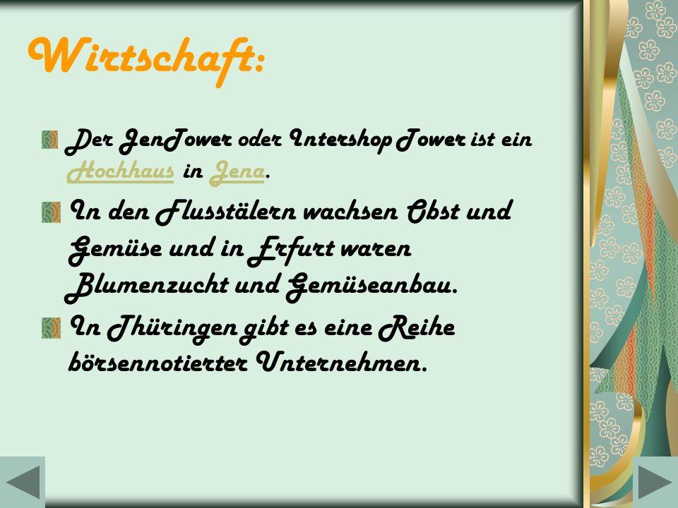 Wirtschaft: Der JenTower oder Intershop Tower ist ein Hochhaus in Jena.