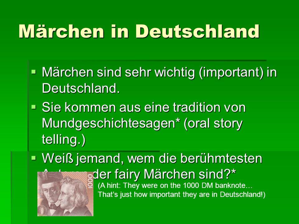 Märchen in Deutschland