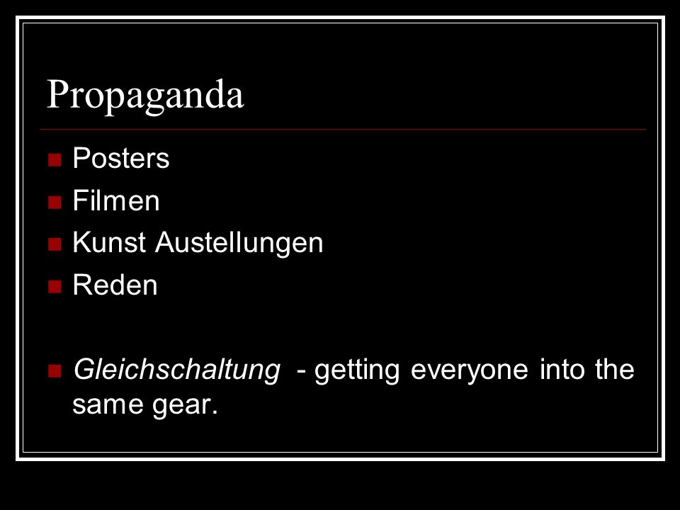 Propaganda Posters Filmen Kunst Austellungen Reden