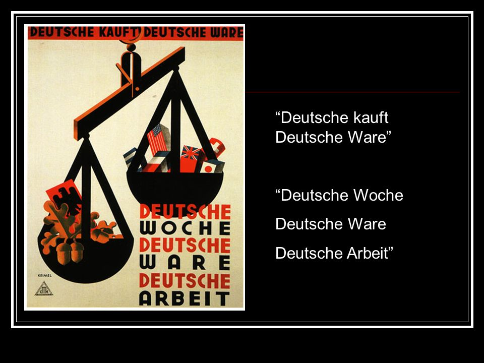 Deutsche kauft Deutsche Ware
