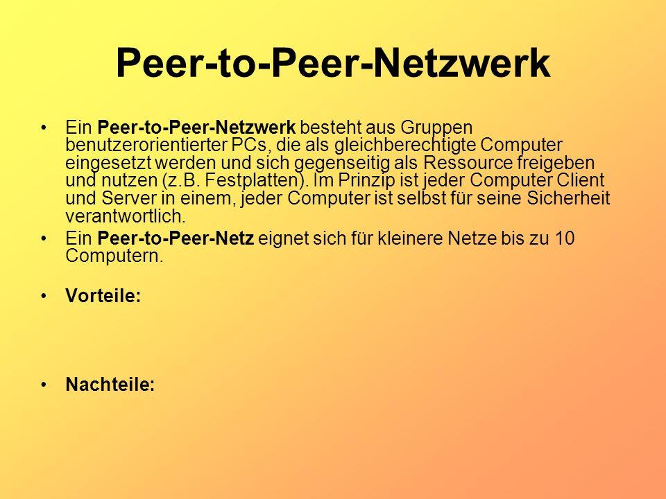 Peer-to-Peer-Netzwerk
