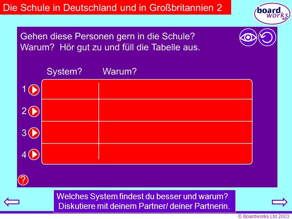 Die Schule in Deutschland und in Großbritannien 2