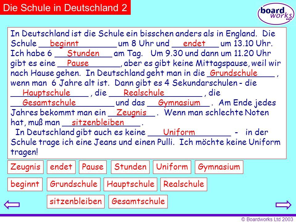 Die Schule in Deutschland 2