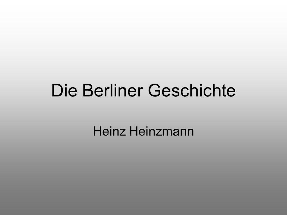 Die Berliner Geschichte