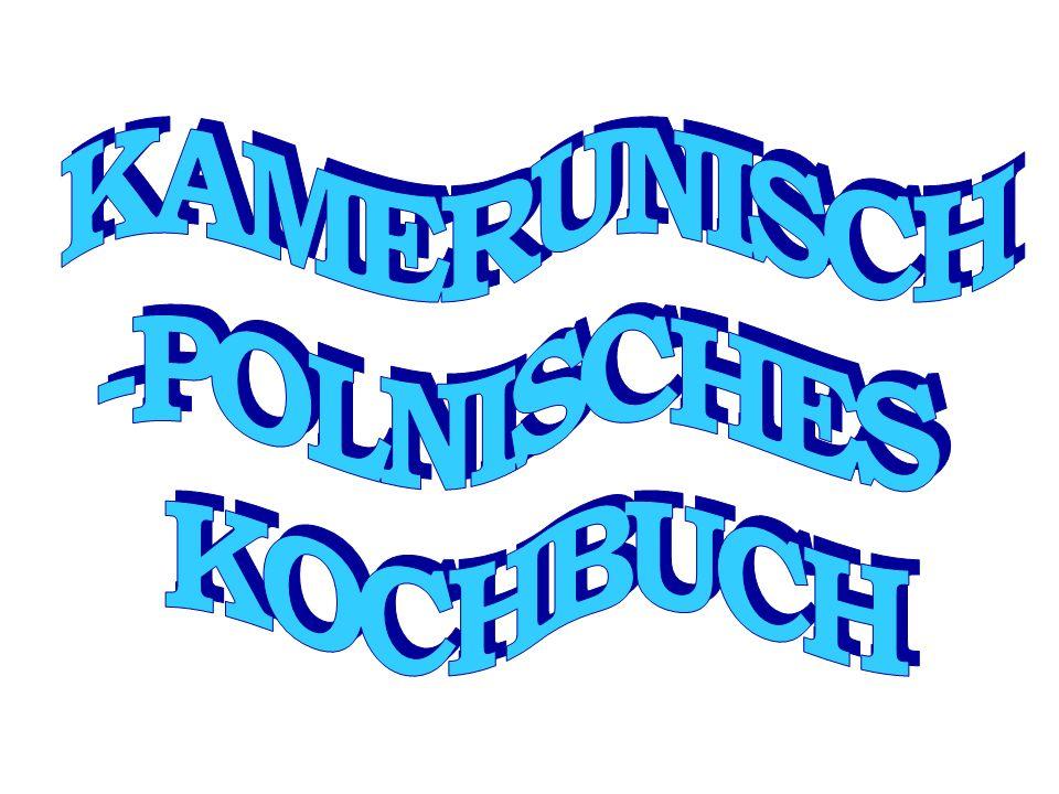 KAMERUNISCH -POLNISCHES KOCHBUCH