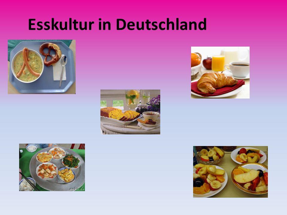 Esskultur in Deutschland