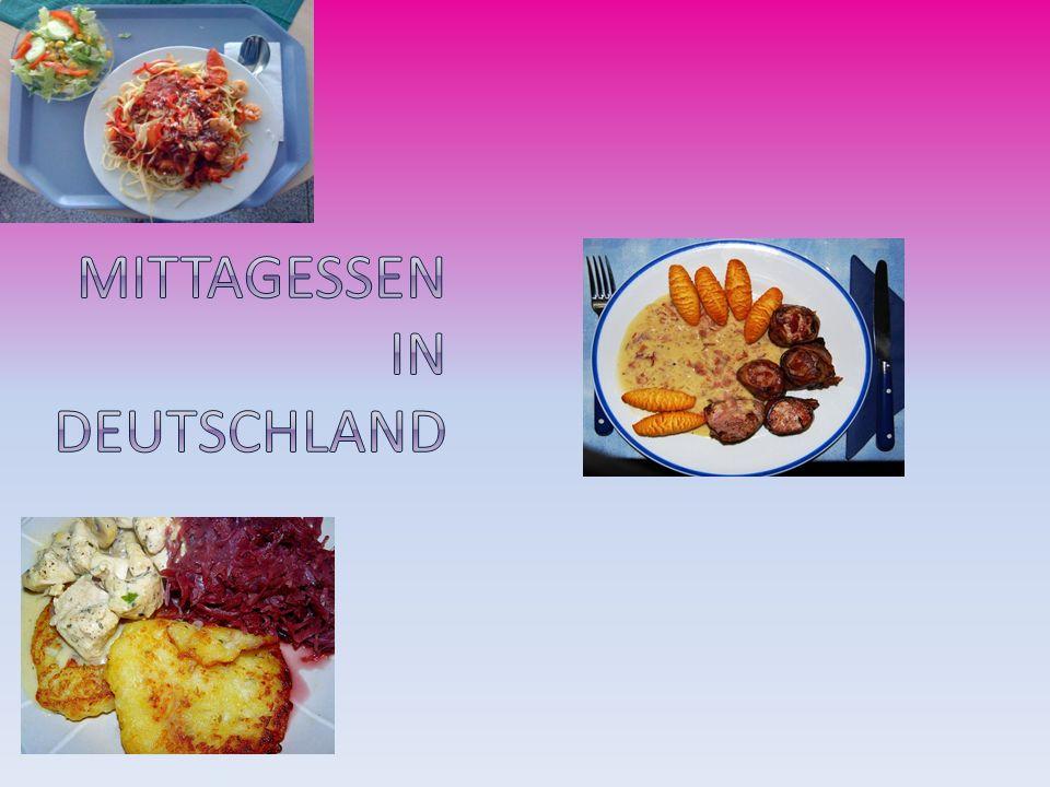 Mittagessen in Deutschland