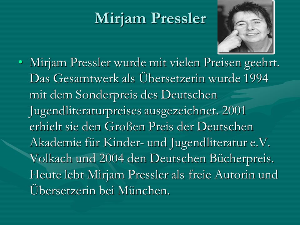 Mirjam Pressler