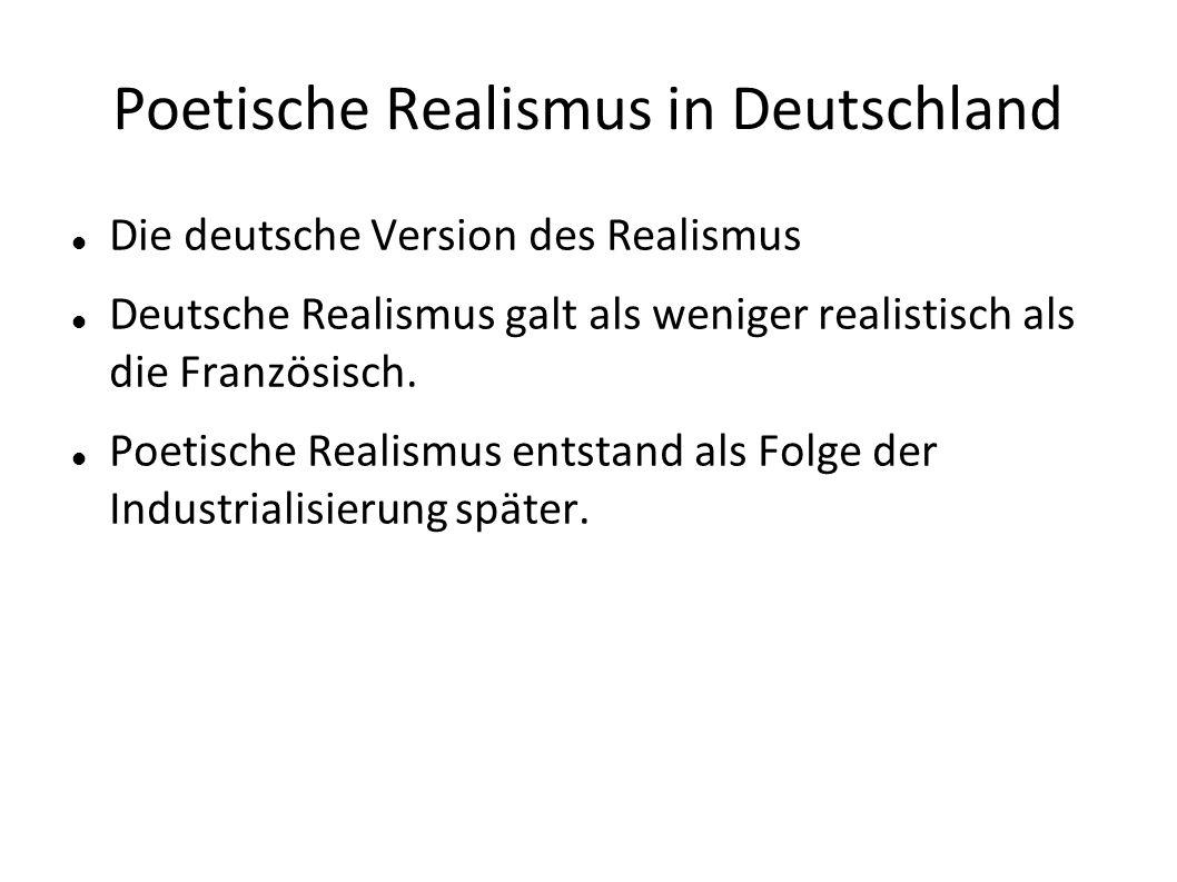 Poetische Realismus in Deutschland