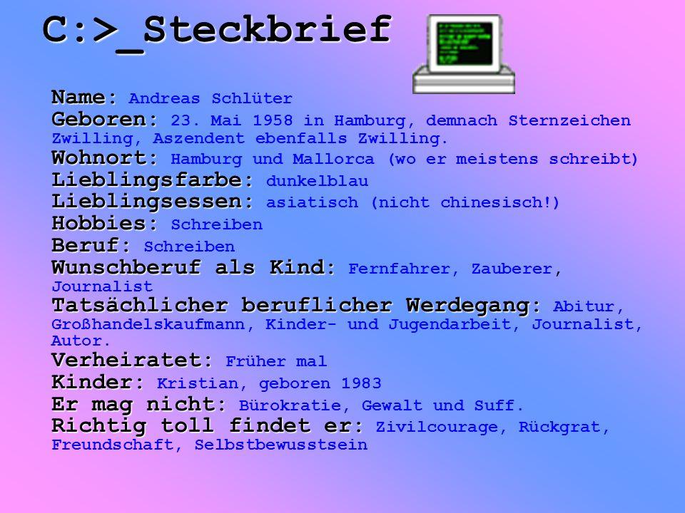 C:>_Steckbrief