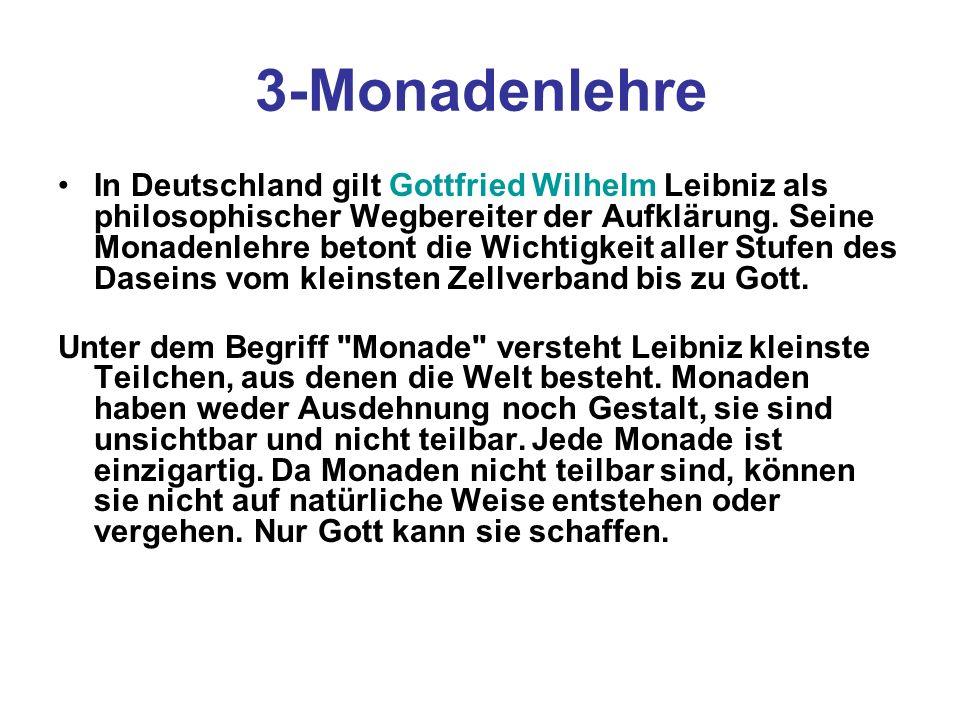 3-Monadenlehre