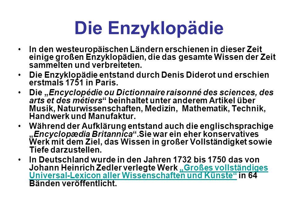 Die Enzyklopädie