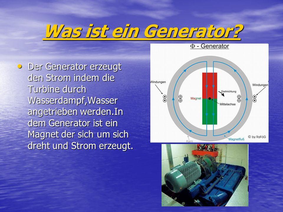 Was ist ein Generator